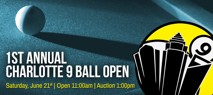 First Annual Charlotte 9 Ball Open